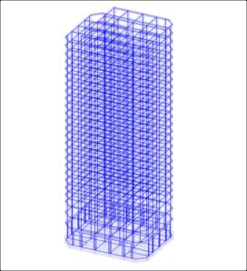 超高層モデル図